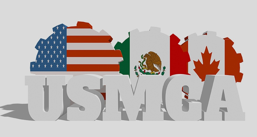 How does USMCA  impact international shipping?